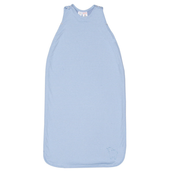 Merino Baby Sleep Bag - Blue/Ivory Stripe