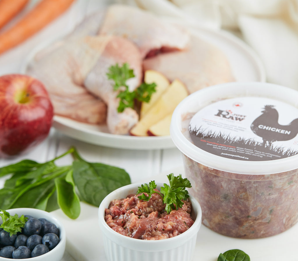 Meet our Meals: All About our Just Raw Chicken Meals
