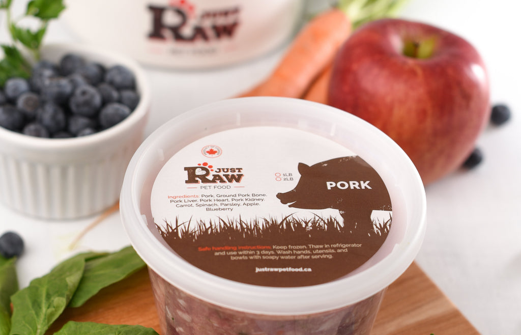 Introducing our NEW Just Raw Pork Meal