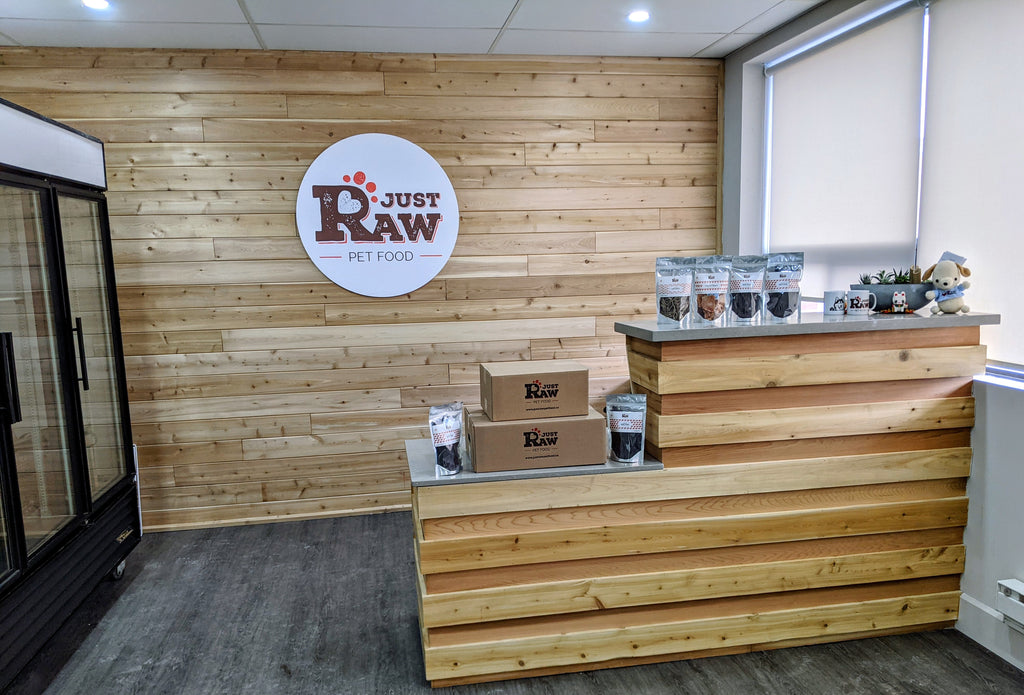 Just Raw Pet Food Storefront Now Open!