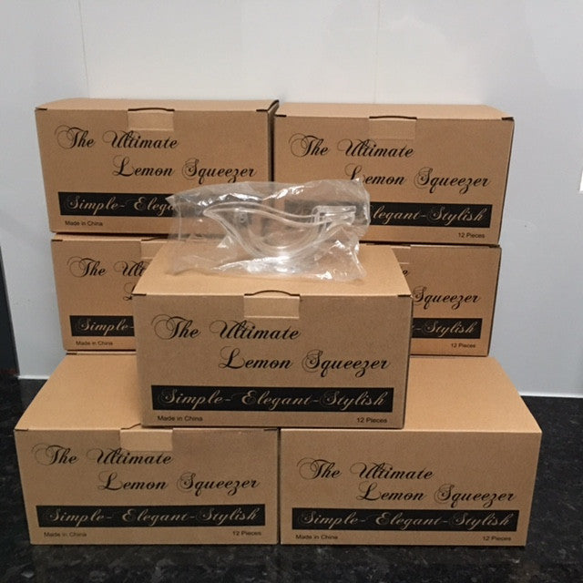 Nine Dozen Lemon Squeezers (Free delivery in Australia)