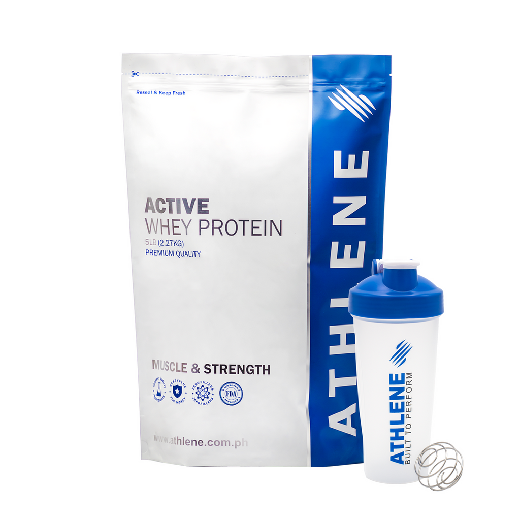 ACTIVE Whey Protein 5lbs with Shaker Bundle