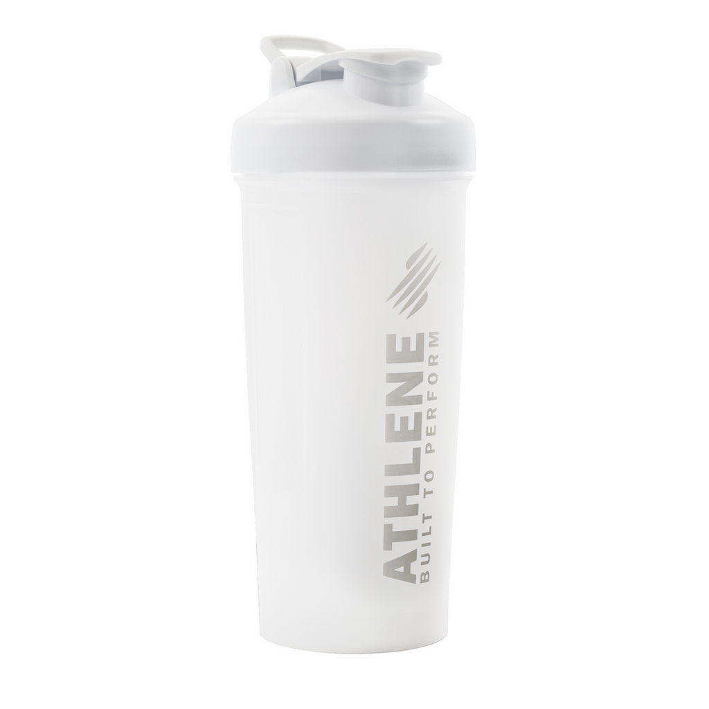 Athlene White Shaker Bottle 1 Liter