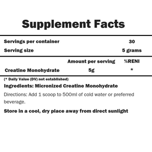 ACTIVE Creatine Monohydrate