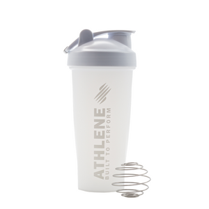 Athlene Shaker Bottle All White