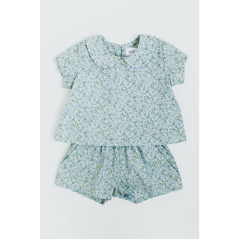 The Blake Set in Periwinkle Floral by Dotti Shop
