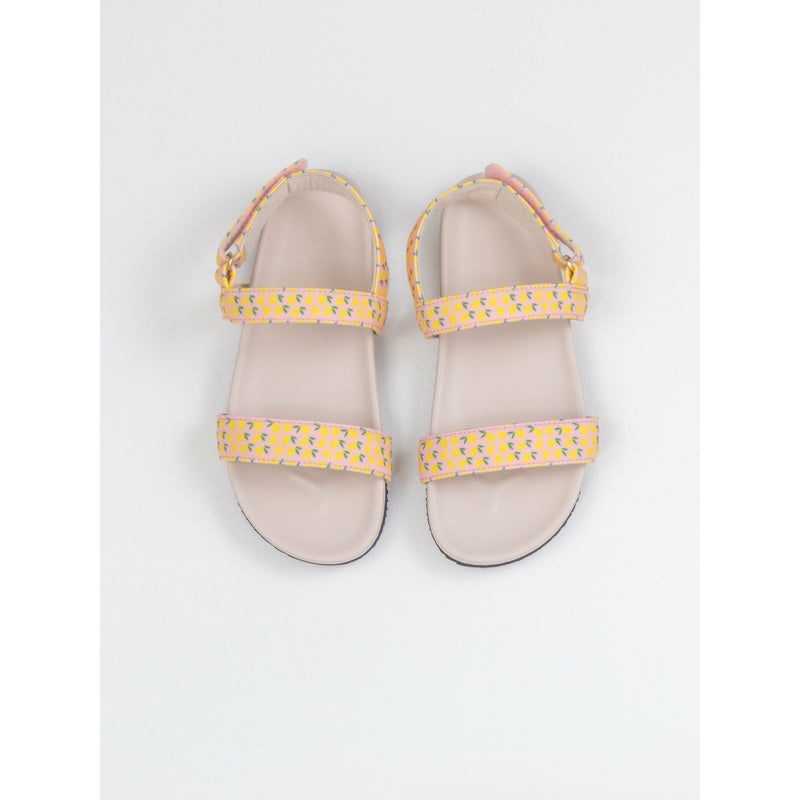 Dotti Shop x nonos sandals Spring 2020 in lemon