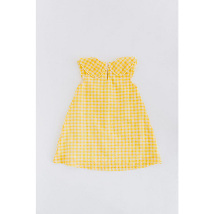 The Lottie Dress in Sunshine Gingham by Dotti Shop