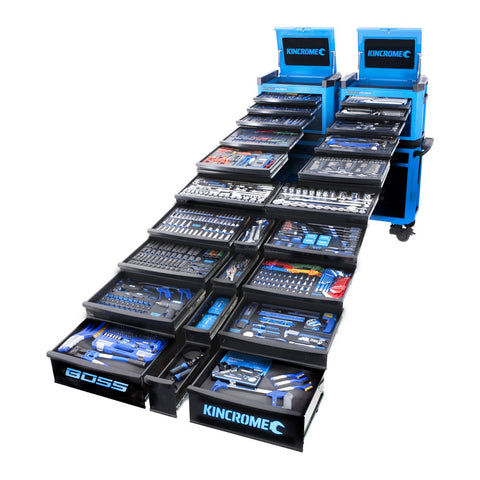 The BOSS Kincrome Toolkit 1066 pieces 21 Trays of Magic!!