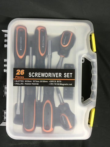 26 piece Screwdriver Set