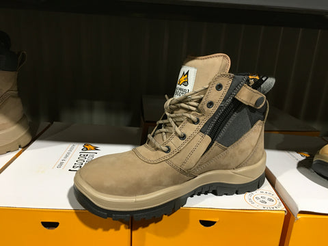 Mongrel Stone Side Zip Work Boot (Safety)
