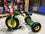 John Deere Mighty Tricycle Green Metal. Last one selling for $249!