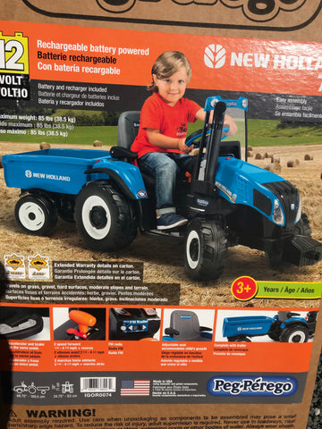 New Holland Tractor and trailer