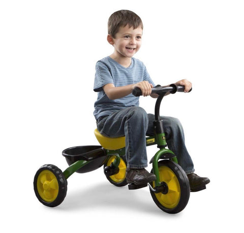 John Deere Tricycle Green Steel and Plastic