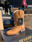 Western Style Dalby Boots (Tan) Reduced Price!