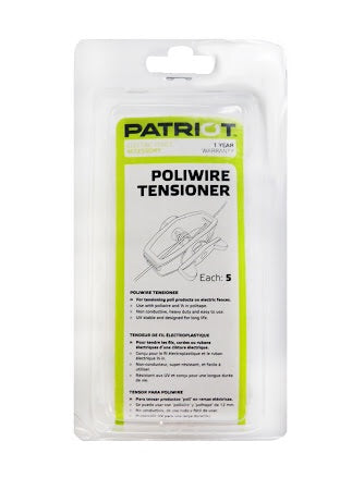 Patriot Poliwire Tensioner (5Units)