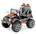 2-Seater Jeep Style 12v Peg Perego Gaucho Rock'in Kids Ride On Car Gaucho 4x4 12 volt