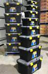 Set of 8 Toolboxes Pick Up Only