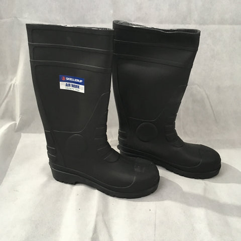 Safety steel caped gumboots