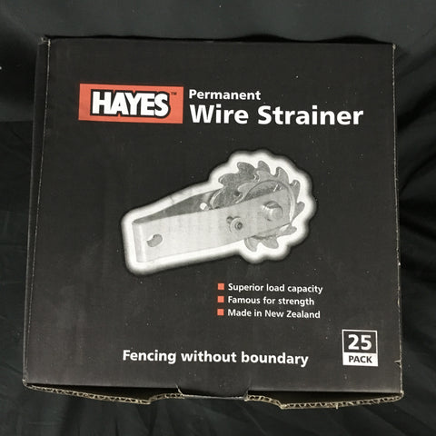 Hayes permanent wire strainer 25 pk