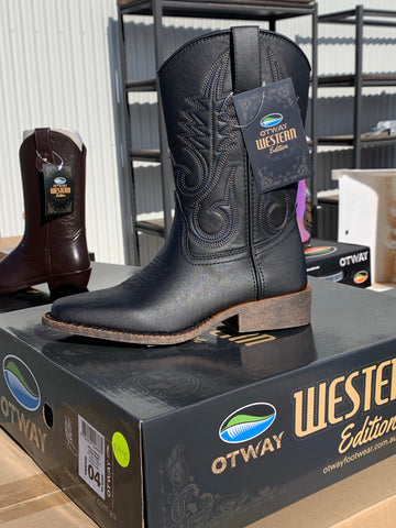 Western Style Dalby Boot (Black) reduced price,