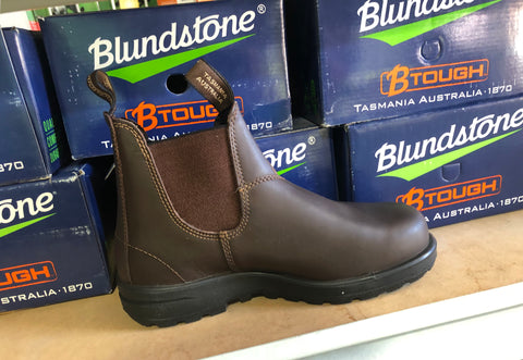 Blundstone Workboot B Tough Elastic Sided Steel Cap
