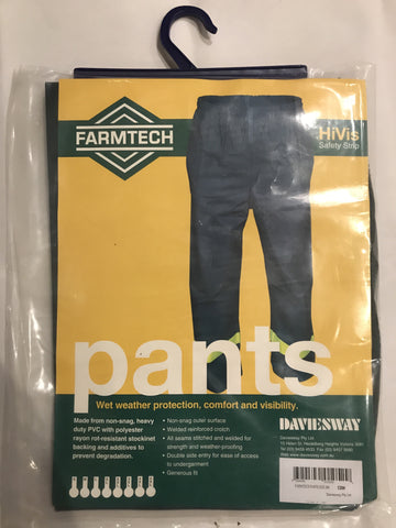 Farmtech HiVis PANTS