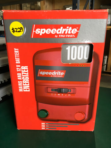 Speedrite TRU TEST Mains and 12V Battery Energizer 1000