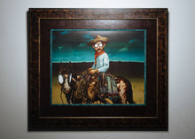 "Limited Edition Fine Art Print #1: ""The Herdsman at High Noon"""