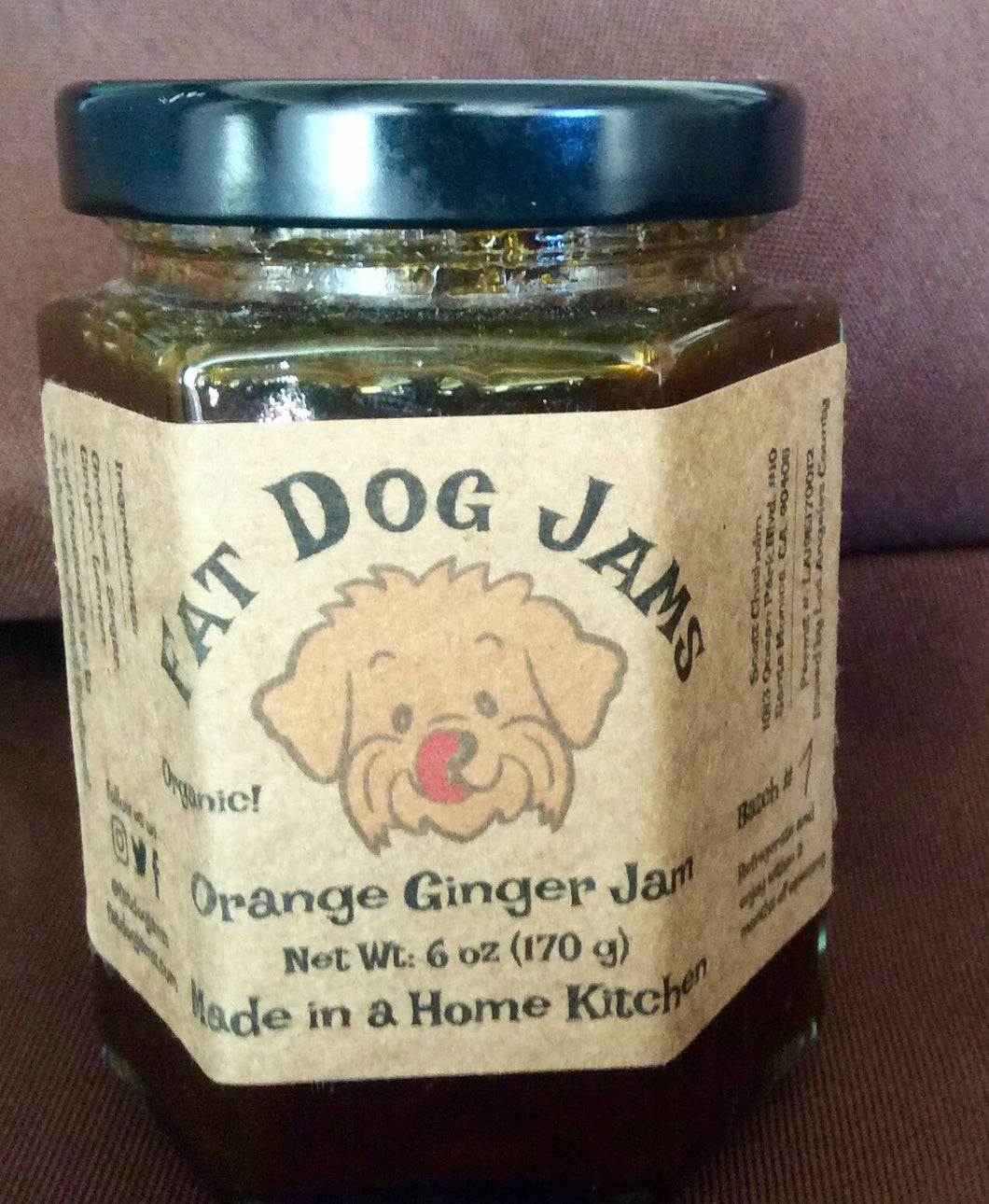 Orange Ginger Marmalade