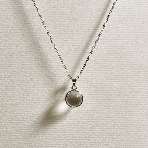 Doris Necklace - Silver