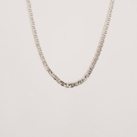 Stole My Heart Necklace - Silver