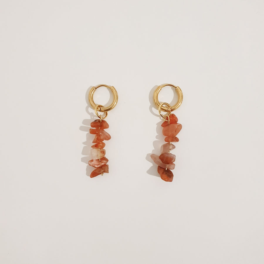 Frida Earrings - Red