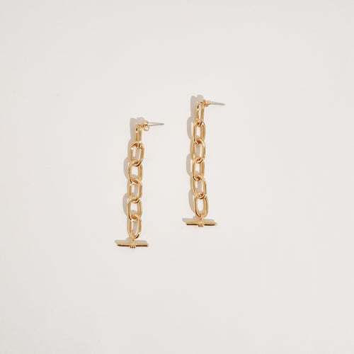 Lindy Earrings - Gold