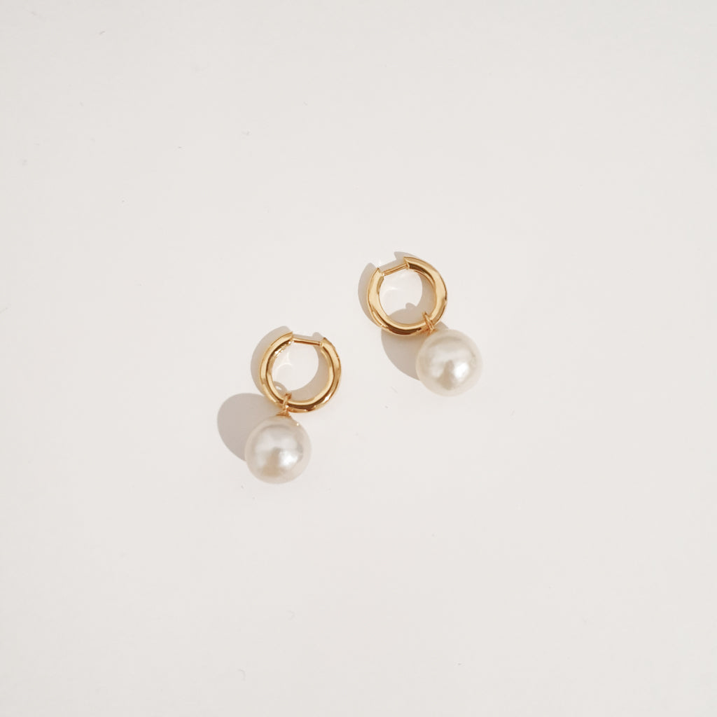 Lucie Earrings - Gold