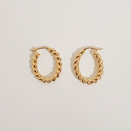 Sofia Hoops - Gold