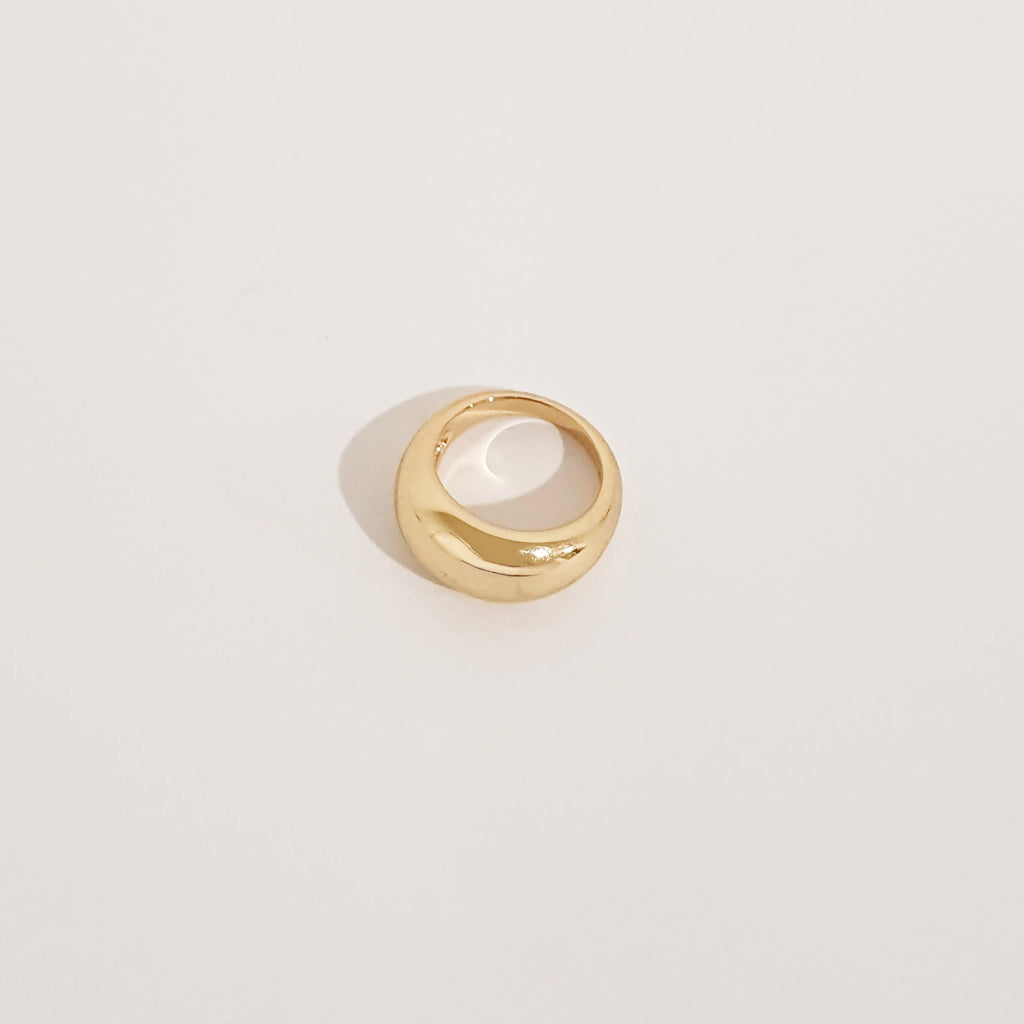 A. Signet Ring - Gold