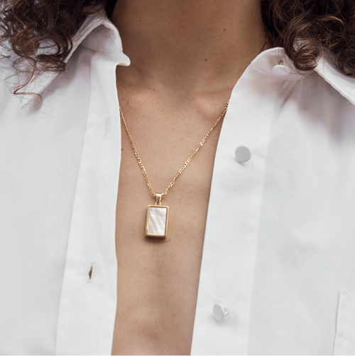Willow Necklace - Mother of Pearl