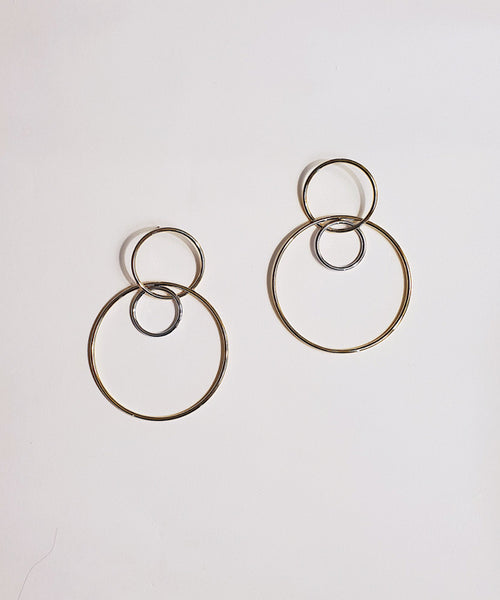 Jane Earrings - Gold