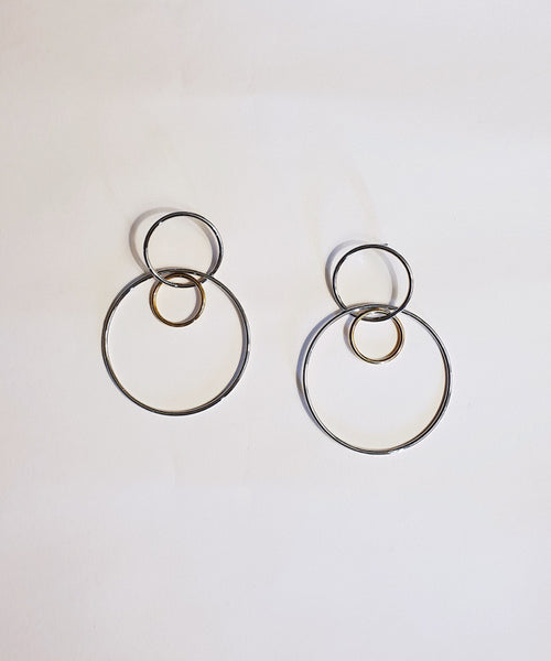 Jane Earrings - Silver