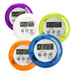 Versatile multipurpose loud Digital kitchen timer - with magnet, and clip  ~ Battery Included