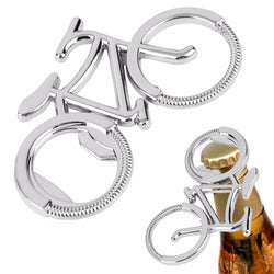 Bicycle Shaped Metal  Bottle Opener