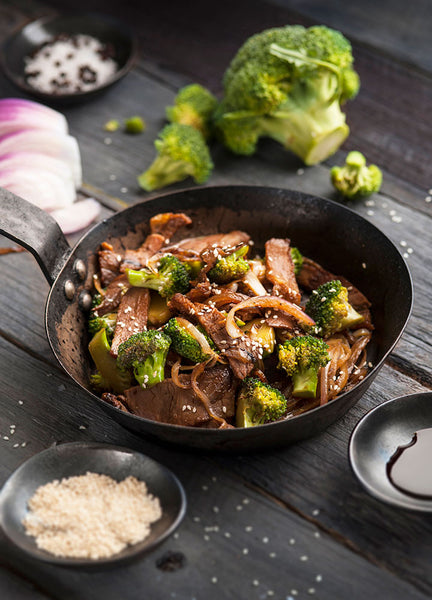 Teriyaki Beef with Broccoli Family Pack