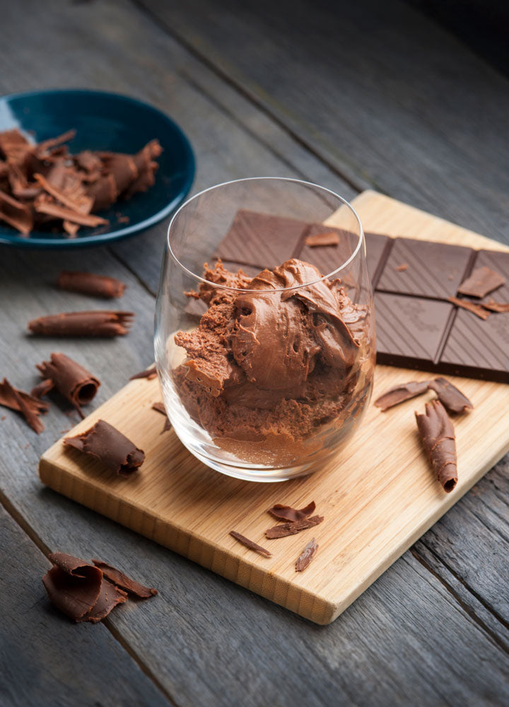 Protein Dark Chocolate Mousse