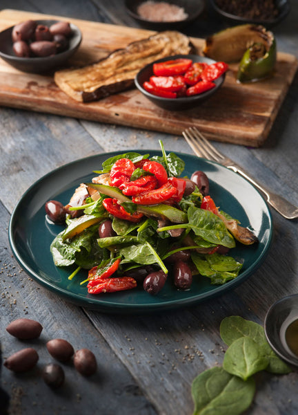 Tuscan Chargrilled Vegetable, Balsamic & Baby Spinach