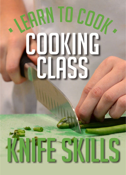 Knife Skills Workshop<br>SAT 10th August<br>12.30-2.30