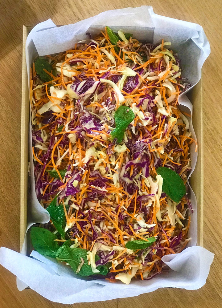 Tangy Cabbage Slaw Salad Box