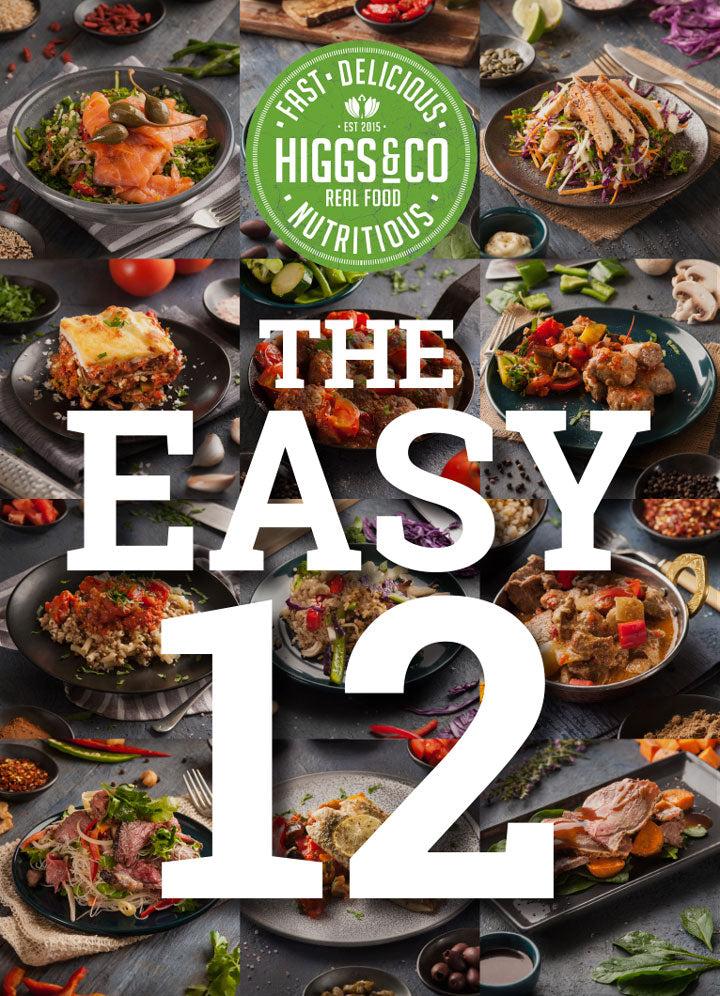 The Easy 12<br>12 MEALS - CHEF'S SELECTION