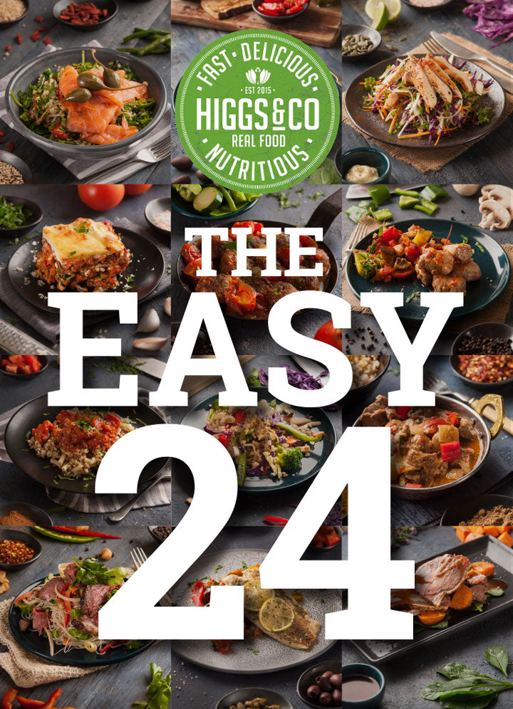 The Easy 24<br>24 MEALS - CHEF'S SELECTION