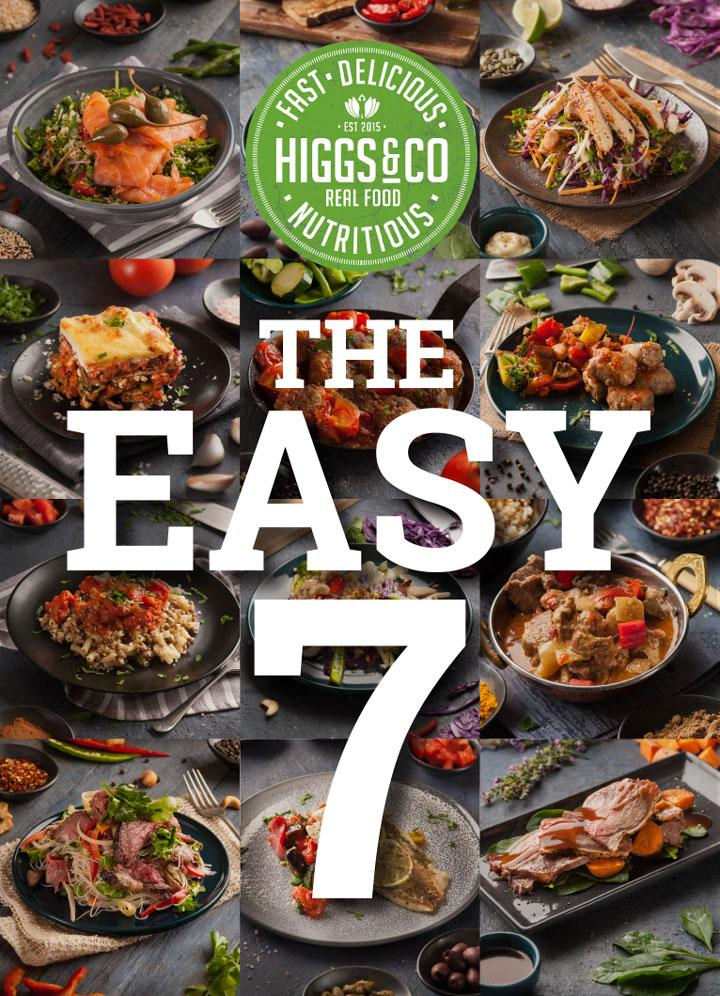 The Easy 7 - 7 MEALS - CHEF'S SELECTION